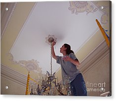 Ceiling Painting Acrylic Print