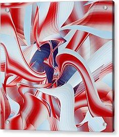 Acrylic Print featuring the digital art Celebrate by rd Erickson