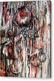 Celebrating The Marriage Of Order And Chaos Acrylic Print by Buck Buchheister
