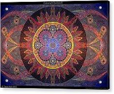 Celestial Clockwork Acrylic Print by Travis Hunt