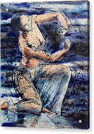 Celestial Dancer Acrylic Print by Brenda Clews