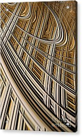 Celestial Harp Acrylic Print by John Edwards