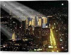 Acrylic Print featuring the photograph Celestial Light by Rod Jones