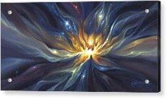 Celestial Lotus Acrylic Print