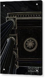 Celestial Pillars Acrylic Print by Inspired Nature Photography Fine Art Photography