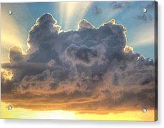 Celestial Rays Acrylic Print