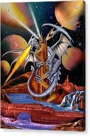 Celestian Dragon Acrylic Print