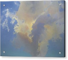Acrylic Print featuring the painting Celina Evening by Cap Pannell