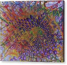 Cell No.8 Acrylic Print by Angela Canada-Hopkins