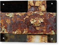 Acrylic Print featuring the photograph Cell Strapping by Fran Riley