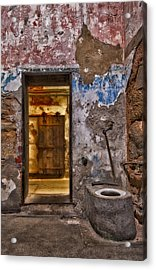Cell To Cell Acrylic Print by Susan Candelario