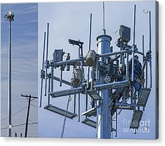 Cell Tower Workers Acrylic Print