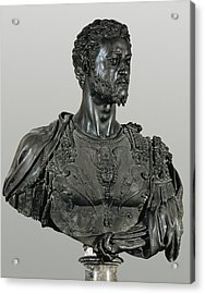 Cellini, Benvenuto 1500-1571. Bust Acrylic Print by Everett