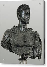 Cellini, Benvenuto 1500-1571. Bust Acrylic Print