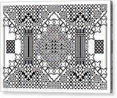 Celtic Builder Acrylic Print
