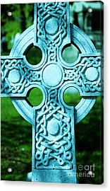 Celtic Cross Acrylic Print by Kathleen Struckle