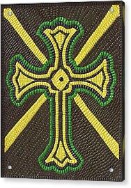 Celtic Cross Acrylic Print by Paul London