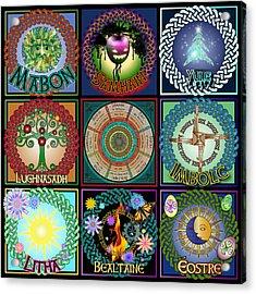 Celtic Festivals Calendar Acrylic Print