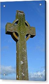 Celtic Stone Cross In Ireland Acrylic Print