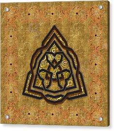 Swirl Celtic Symbol Acrylic Print