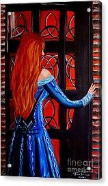 Celtic Woman Acrylic Print