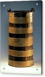 Celtic Wood Bucket Acrylic Print by Patrick Landmann/science Photo Library