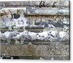 Cemetary Rock 1 Acrylic Print