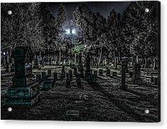 Cemetery  Acrylic Print by Ray Congrove
