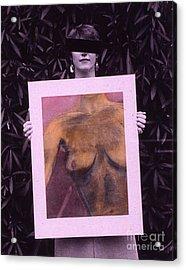 Censored Artist Acrylic Print