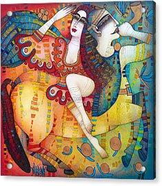 Centaur In Love Acrylic Print
