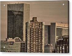 Centennial Tower Acrylic Print by Lisa Marie Pane