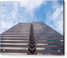 Center At 600 Vine Acrylic Print by Rob Amend