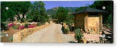 Center For Earth Concerns, Ojai Acrylic Print by Panoramic Images