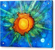 Center Of The Universe Acrylic Print by Kelly Dallas