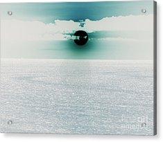 Center Sun Acrylic Print