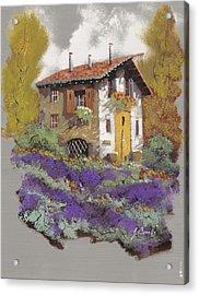 Cento Lavande Acrylic Print by Guido Borelli
