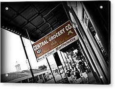 Central Grocery Acrylic Print by Scott Pellegrin