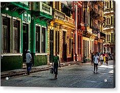 Central Havana Acrylic Print