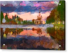 Central Park In Moscow Acrylic Print