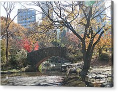 Central Park In The Fall-3 Acrylic Print