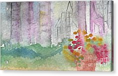 Central Park  Acrylic Print by Linda Woods