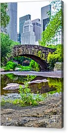 Central Park Nature Oasis Acrylic Print