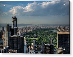 Central Park New York City Acrylic Print by Chris McKenna