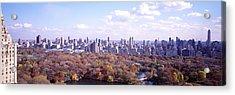 Central Park, Nyc, New York City, New Acrylic Print