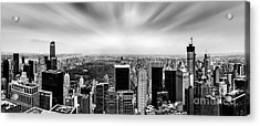 Central Park Perspective Acrylic Print by Az Jackson