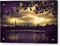 Central Park Twilight Acrylic Print
