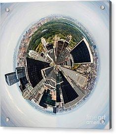 Central Park View Circagraph Acrylic Print
