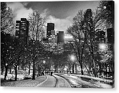Central Park View Acrylic Print by John Farnan