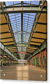 Central Railroad Of New Jersey Crrnj Acrylic Print by Susan Candelario