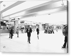Central Station 1 Acrylic Print by Eric Soucy